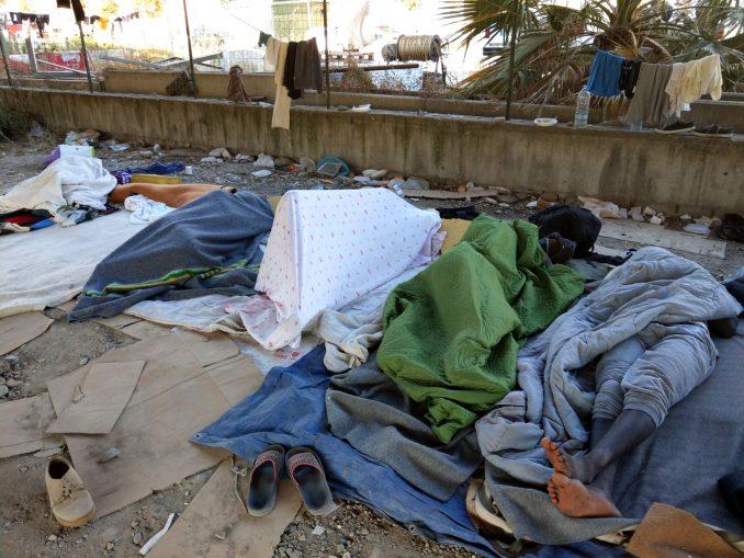 Refugee Rights Europe Ventimiglia Sleeping Underpass