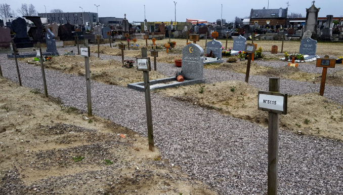 Refugee Rights Europe Calais March 2019 Graves