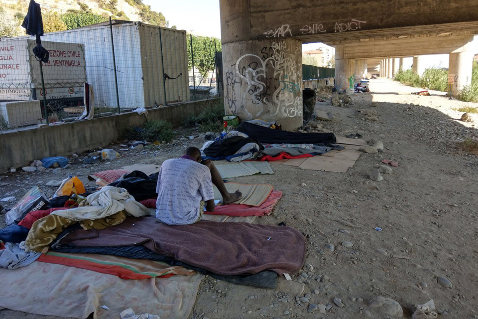 Refugee Rights Europe Calling For Change French-Italian Border