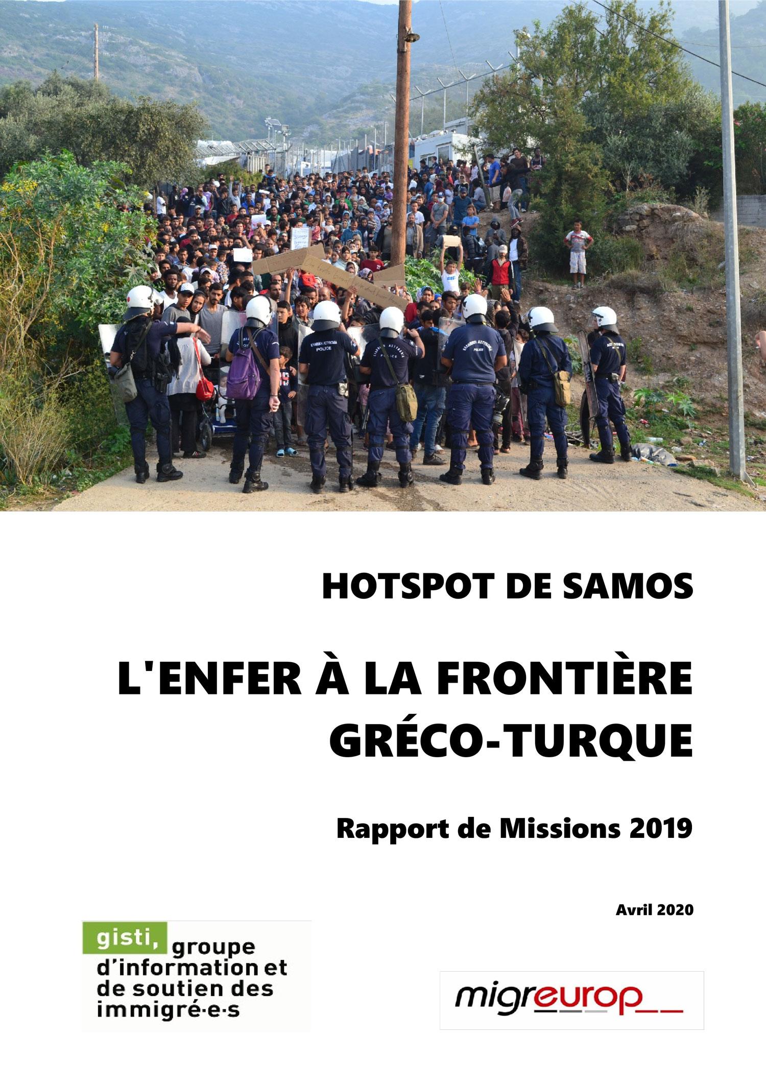 Refugee Rights Europe Pushbacks Greece-Turkey Border Hotspot De Samos