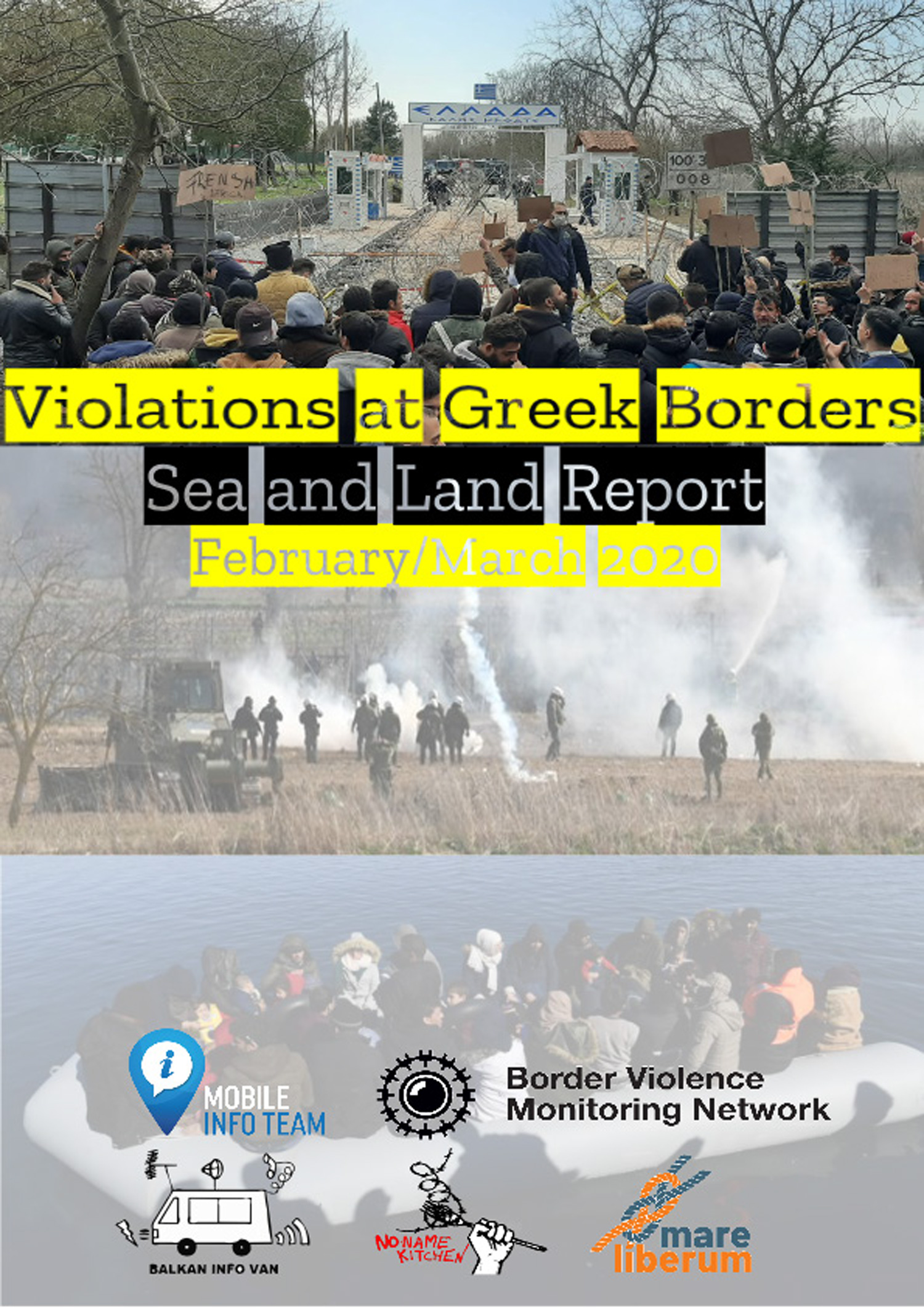 Refugee Rights Europe Pushbacks Greece-Turkey Border Violations At Greece Borders